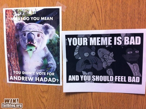 meme,response,school election,Zoidberg