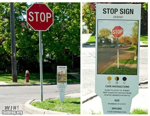 gardening hacked irl stop sign Street Art - 6185824512