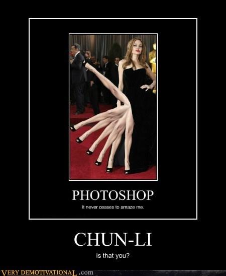 Angelina Jolie chun li hilarious leg - 6185919488