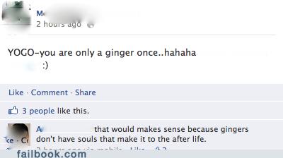 ginger gingers soul yolo - 6186106112