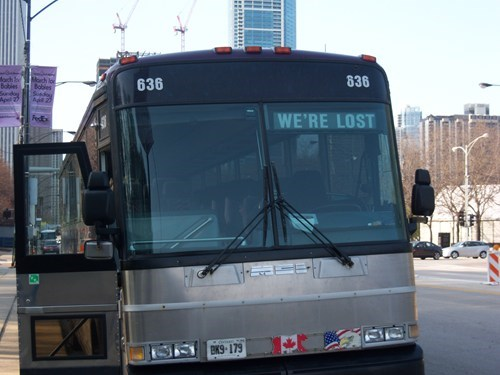 bus Canada public transportation were-lost