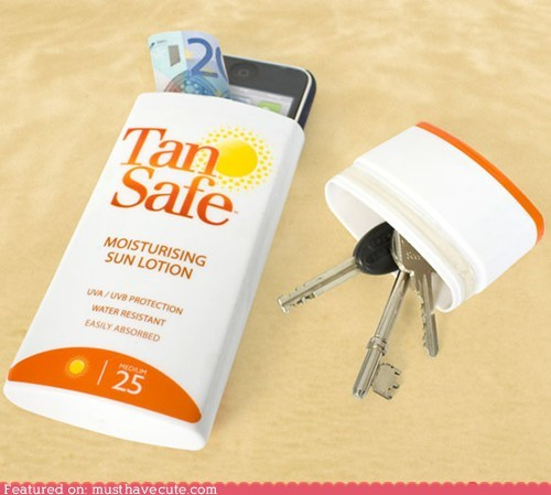 bottle box fake hide stash sunblock - 6186728704