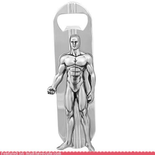 bottle opener,comic book,silver surfer,surfboard