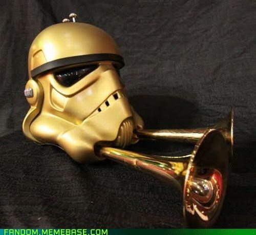 It Came From the Interwebz mask scifi star wars trumpet - 6186750976