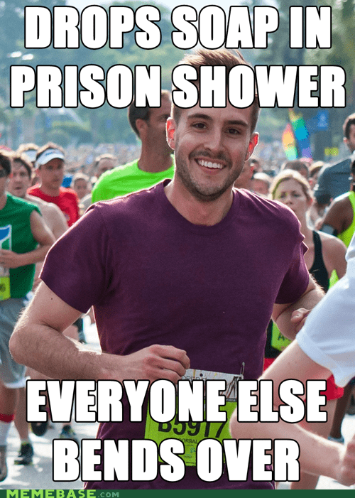 Memes,prison,ridiculously photogenic guy,soap