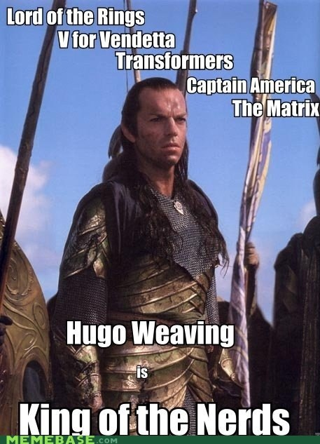 nerds,actors,Hugo Weaving