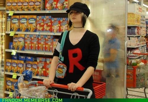 casual cosplay Pokémon Team Rocket - 6187278080