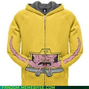 clothes,hoodie,It Came From the Interwebz,Krang,TMNT
