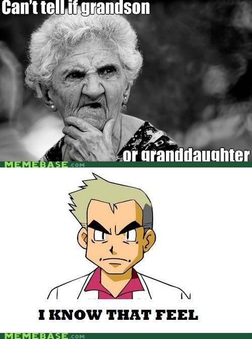 cant tell grandparents i know that feel meme Memes professor oak - 6187544320