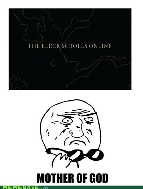 Memes,mother of god,online,Skyrim