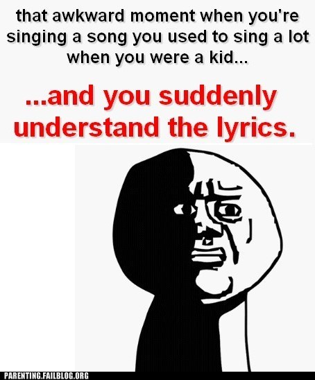Awkward Moment lyrics singing suddenly understand