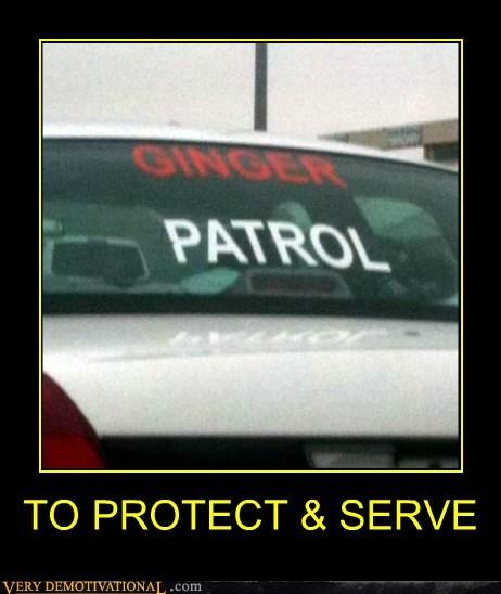 cops ginger hilarious patrol - 6187928576