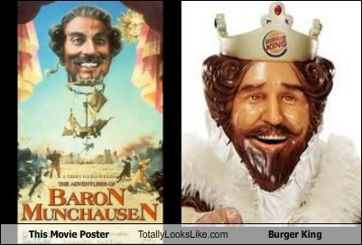 baron munchausen burger king funny Movie poster TLL