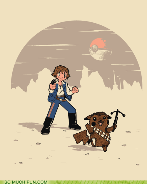 chewbacca classic Hall of Fame neologism pikachu Pokémon portmanteau star wars Star Wars Day - 6188092416