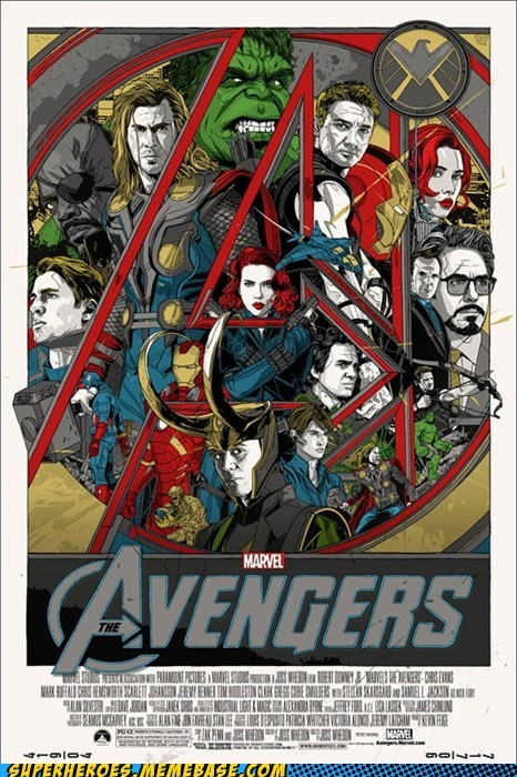 avengers Awesome Art incredible poster - 6188098560