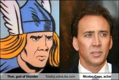 funny,nic cage,nicolas cage,Thor,TLL