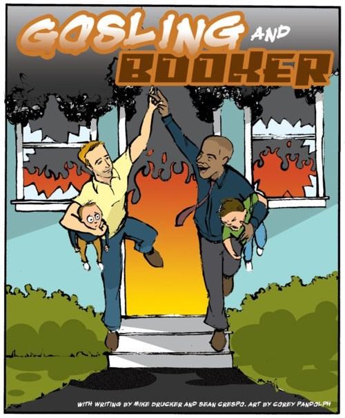 cory booker,Ryan Gosling,superhero collaboration