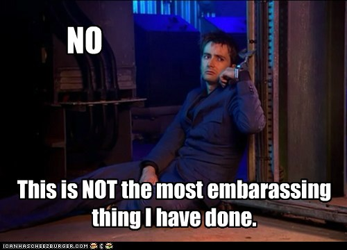 annoyed David Tennant embarrassing handcuffed no not thanks the doctor - 6188356096
