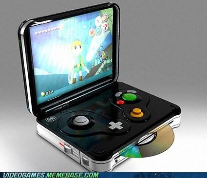 gamecube handheld IRL nintendo win wind waker zelda - 6188442112