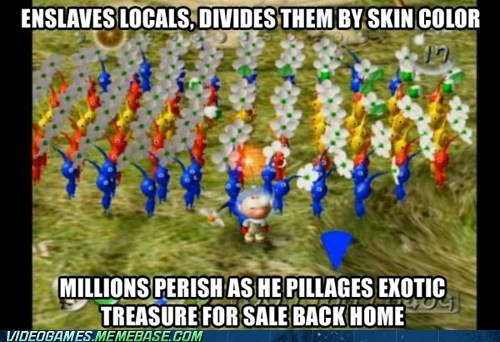 dats wacist gamecube nintendo pikmin the internets - 6188487424