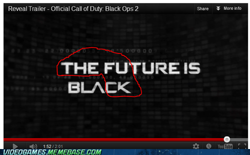 black ops II call of duty reveal trailer robots the feels - 6188512768