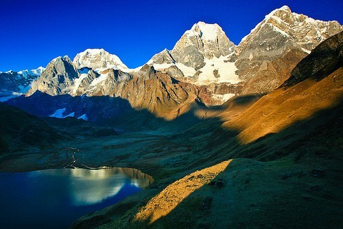 lake,mountain,peru,shadow,valley