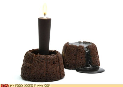 cake candle chocolate dessert ganache glaze - 6188554752