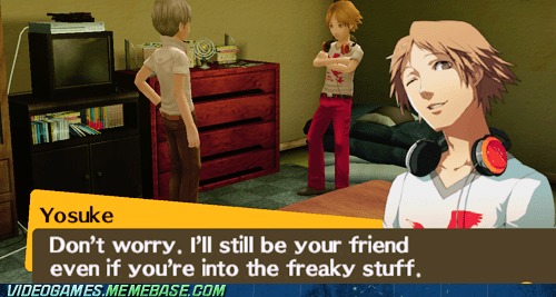 freaky stuff gameplay persona yosuke