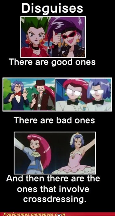 anime cant tell crossdressing disguises Team Rocket tv-movies - 6188576768