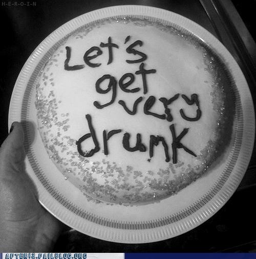 cake,very drunk