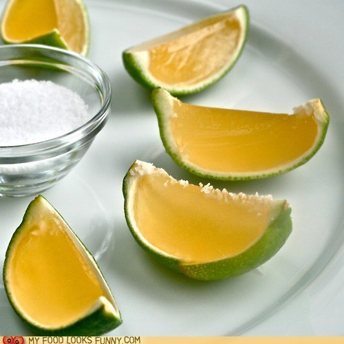 booze jello shots lime margarita salt tequila - 6188654848