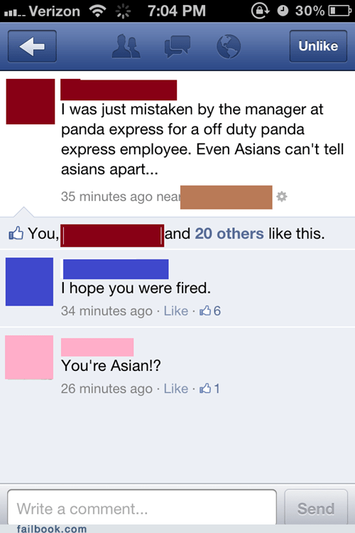 asian race racist