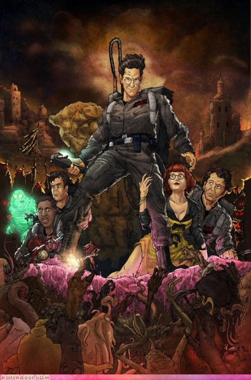 army of darkness art awesome funny Ghostbusters Movie - 6188718080