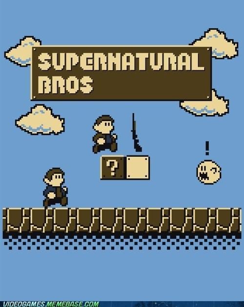 crossover ghosts Supernatural TV - 6188829184