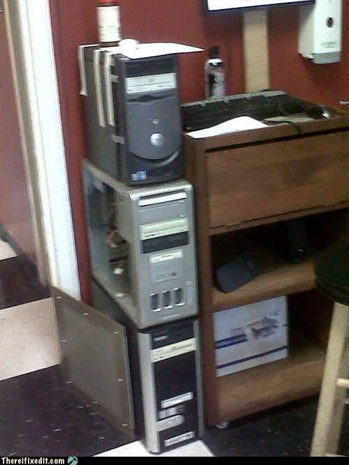 computer,computer tower,console,Dell,desktop,tape