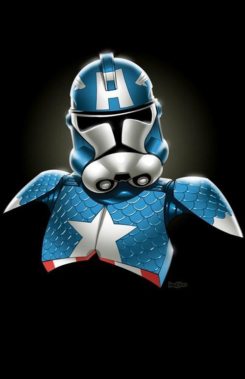 avengers,captain america,Nerd News,stormtrooper
