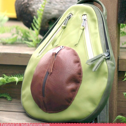 avocado backpack bag fruit pit - 6188985344