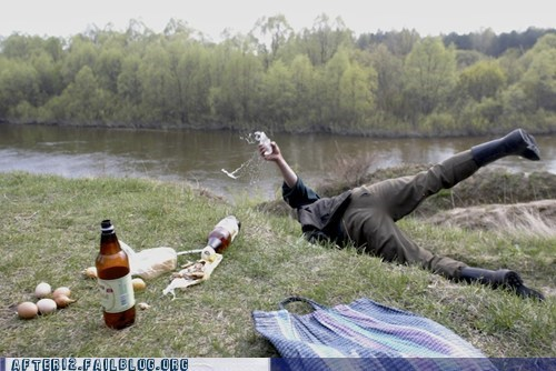 beer fall picnic rage slip trip - 6189035264