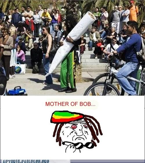 blunt bob marley Hall of Fame jamaica joint marijuana rasta rasta man weed - 6189268480