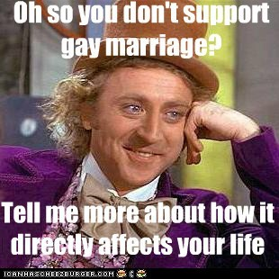gay marriage Memes sex straight Willy Wonka - 6189848832