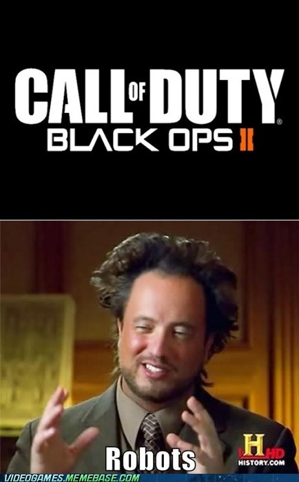 black ops II call of duty future meme robots - 6190032384