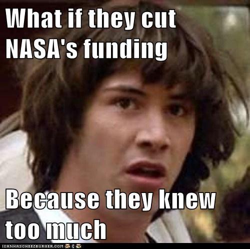 Aliens conspiracy keanu funding nasa - 6190956032