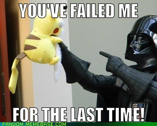 darth vader It Came From the Interwebz pikachu star wars - 6191792384