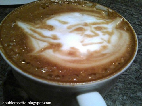 latte art,may the fourth,movies,star wars,Star Wars Day,yoda