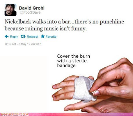celeb Dave Grohl funny Music nickelback - 6191892224