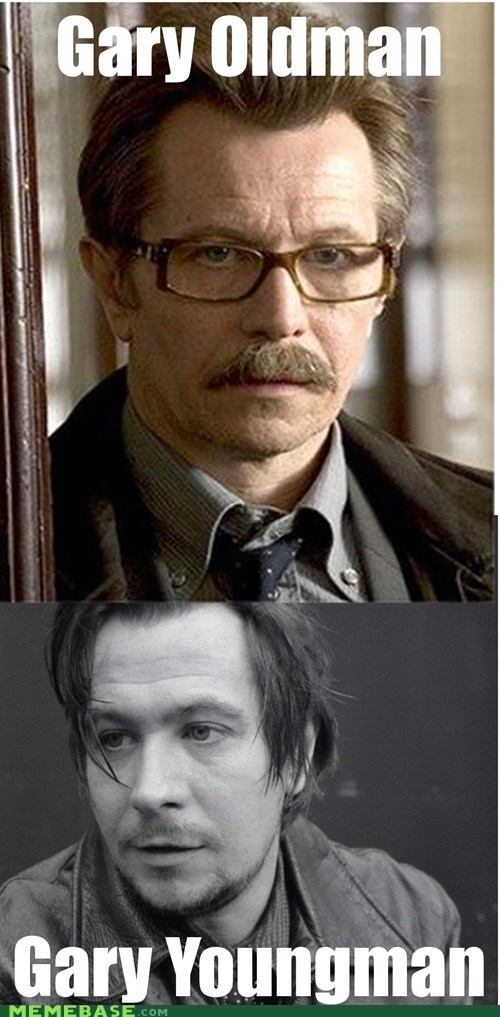 aging,Gary Oldman,Memes,young man