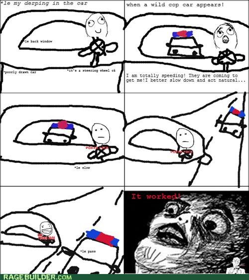 cop police Rage Comics raisin face - 6191925504
