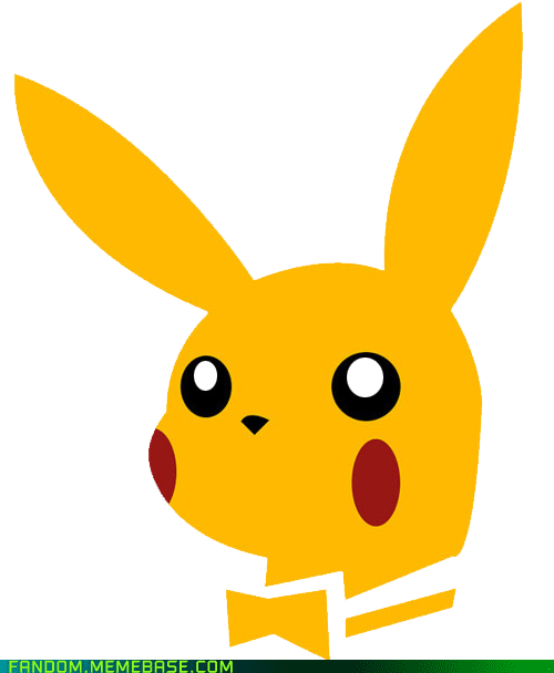 crossover pikachu playboy bunny - 6192016896