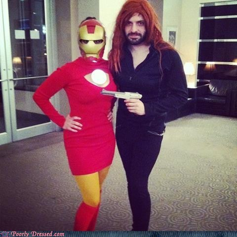 avengers cosplay gender bender iron man super heroes