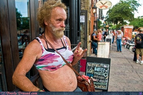 bikini crazy IDGAF old people the horns what - 6192110848